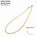 BUFFALO BOBS(バッファローボブズ)CUTBRASSBEADS NECK_(カットブラスビーズネックレス)ネックレス(2COLOR))