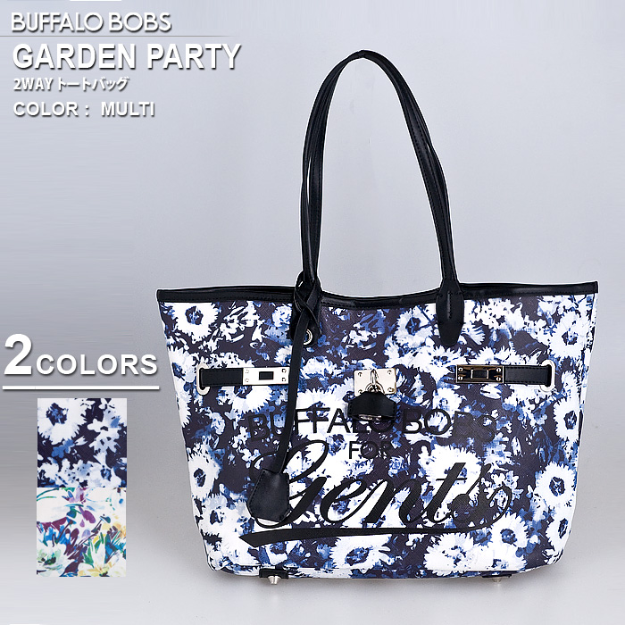 GARDEN PARTY マイクロ トートバッグ BUFFALO BOBS バッファローボブズ